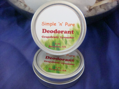 2 oz Lavender/Grapefruit Natural Deodorant