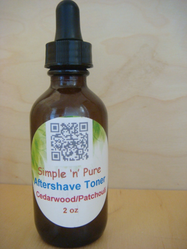 Aftershave Toner-Cedarwood/Patchouli